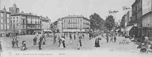 Place du Vigan на рубеже 20-го века, Albi
